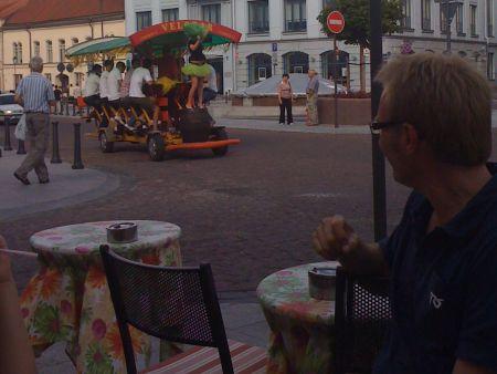 Bo also likes Velobar in Vilnius