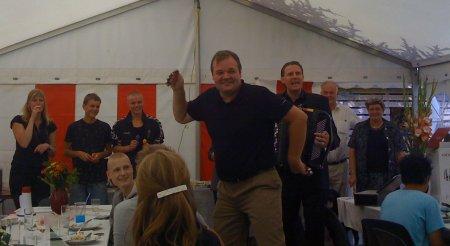Dan Taxbøl dancing