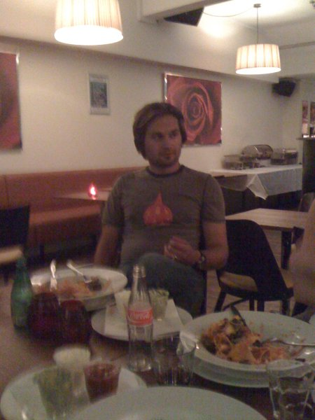 Eugenijaus 'Giena' Barzdžiaus visits me in Copenhagen