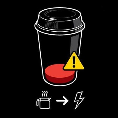 Low on coffee