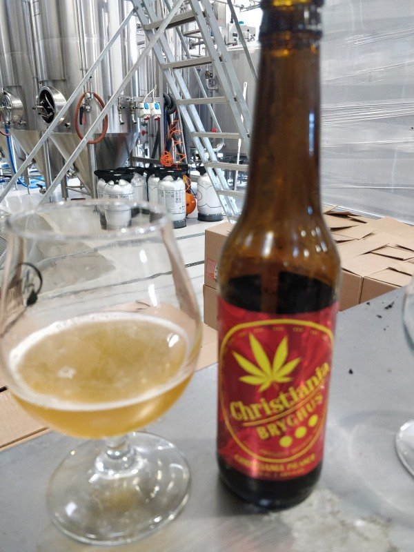 Christiania Pilsner by Christiania Bryghus